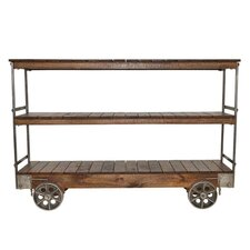 Maximilien Shelf Console Table by Laurel Foundry Modern Farmhouse
