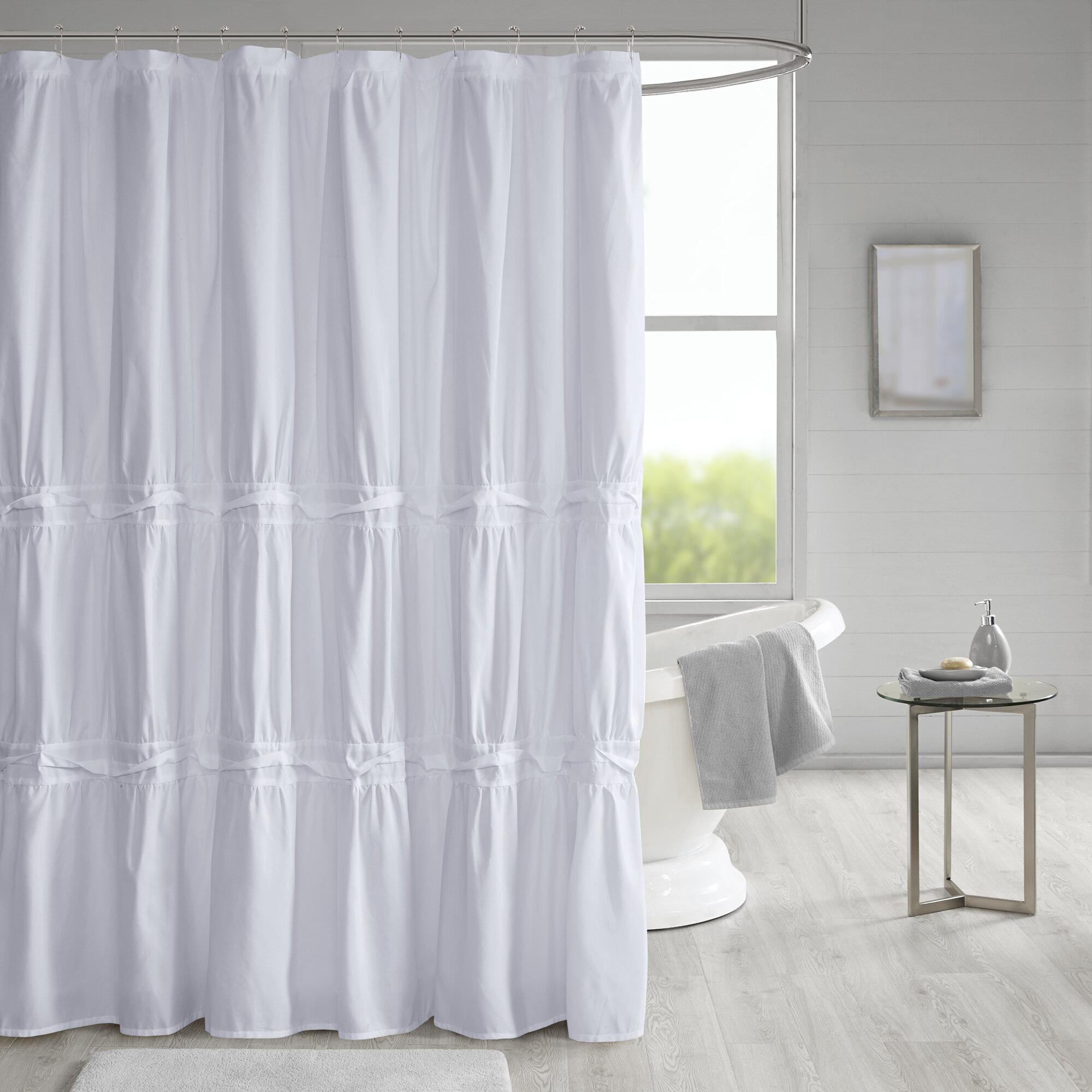 Tyntesfield Solid Single Shower Curtain