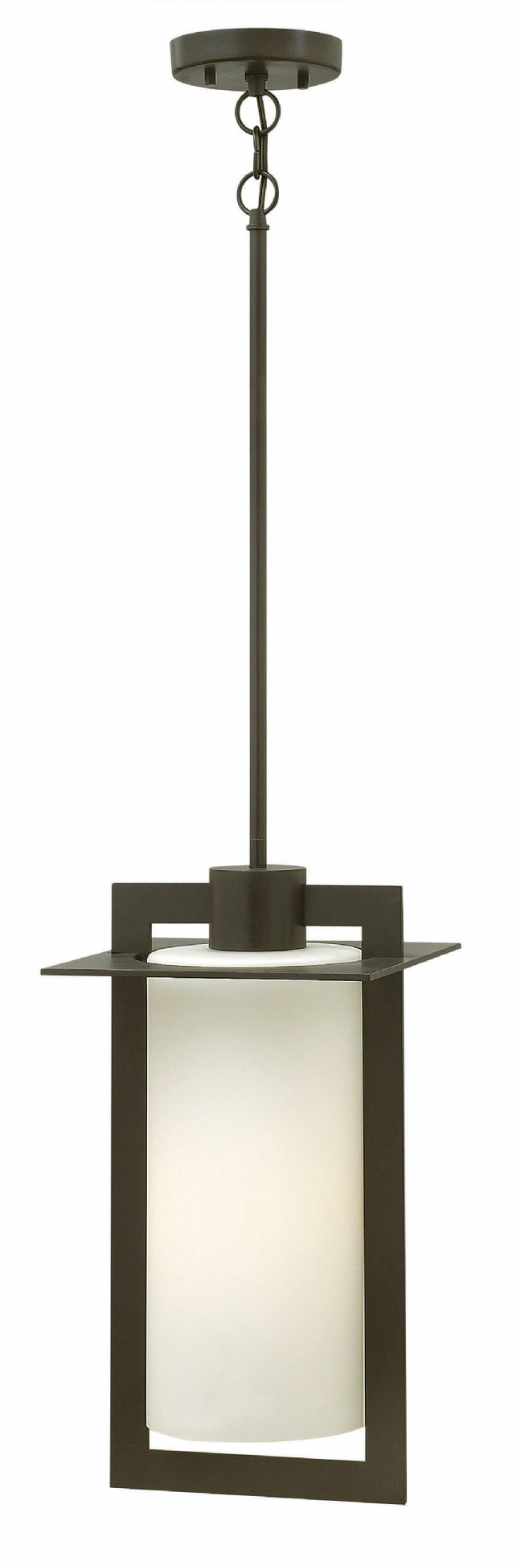 Orren Ellis Apex 1 Bulb 18 8 H Mains Only Outdoor Hanging Lantern Reviews Wayfair