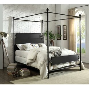 Jenkins Canopy Bed by Gracie Oaks