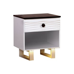 Haedus 1 Drawer Nightstand by Zoomie Kids
