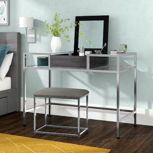 Latitude Run Sydenham Vanity Set with Mirror