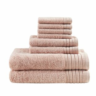 Mirage Solid 8 Piece Towel Set