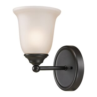 Oakside 1-Light Bath Sconce by Charlton Home