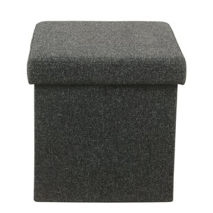Hagedorn Square Collapsible Storage Ottoman