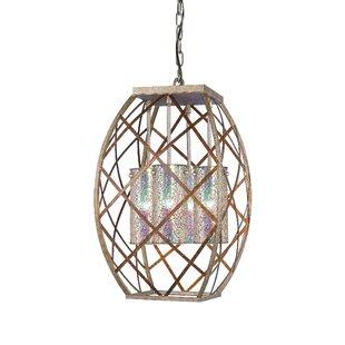 Braid 4-Light Lantern Pendant ByWoodbridge Lighting