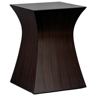 Hourglass End Table by Fur..