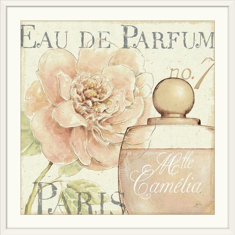 'Fleurs and Parfum II' Daphne Brissonnet Graphic Art Print