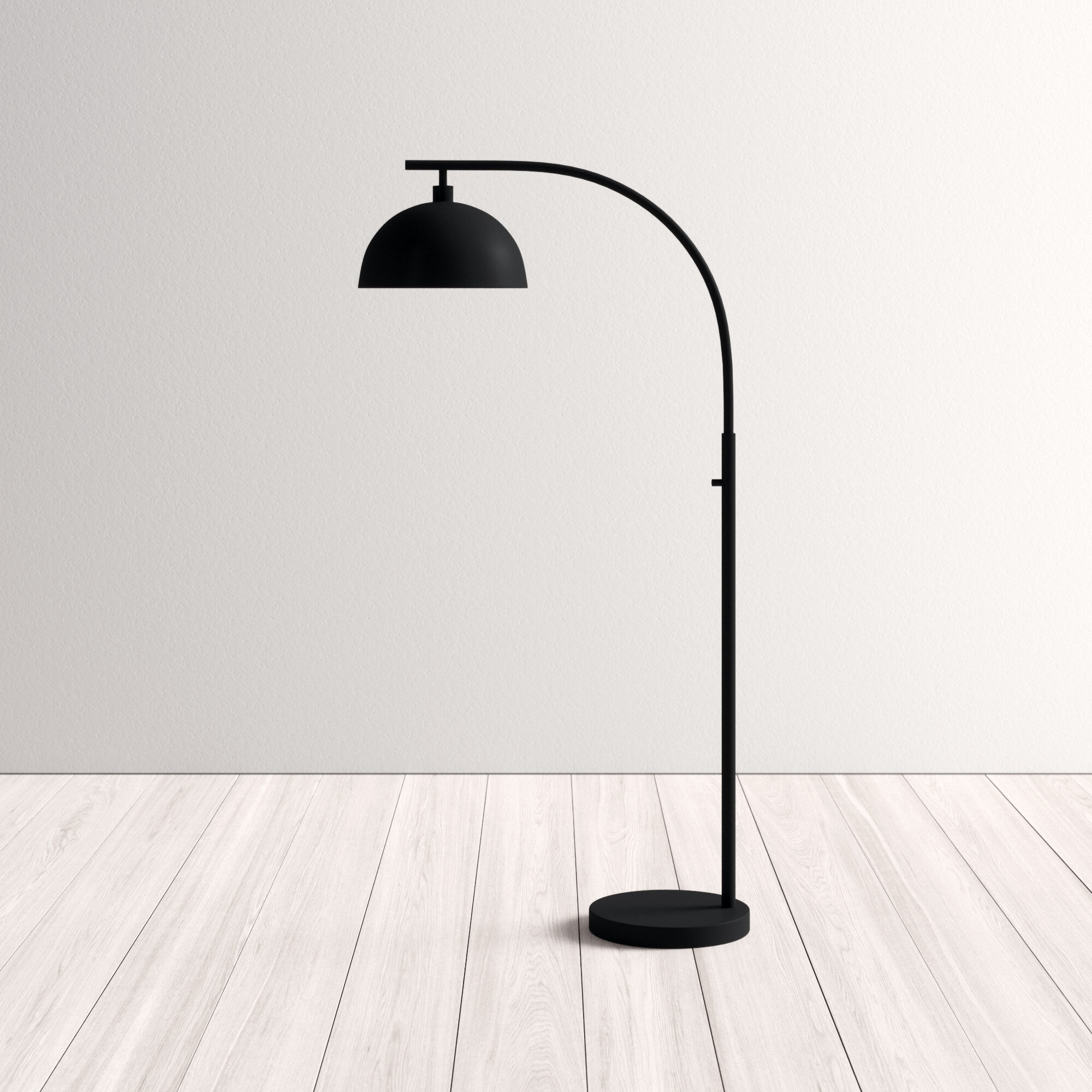 Image of: Maureen 71 Arc Floor Lamp Reviews Allmodern