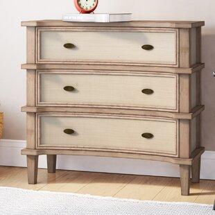 Cavana 3 Drawer Dresser by August Grove