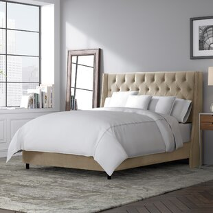 Affordable Beesley Upholstered Panel Bed by Rosdorf Park Reviews (2019) & Buyer's Guide