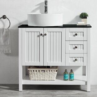 Single Vanity With Vessel Sink Wayfair