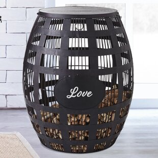 Barrel Cork End Table by Wine Enthusiast