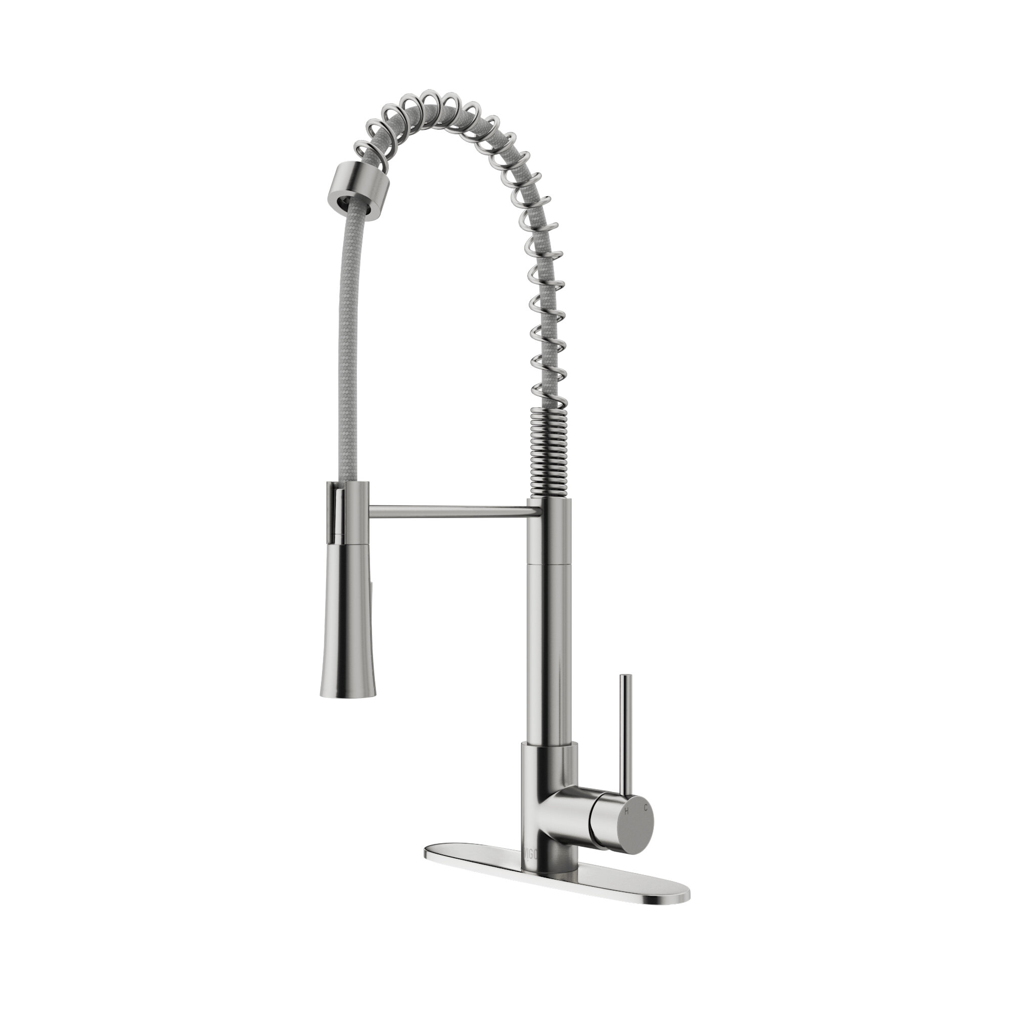 VIGO Laurelton Pull Down Single Handle Kitchen Faucet & Reviews ...