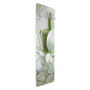 White Nigella Wall Mounted Coat Rack By Symple Stuff