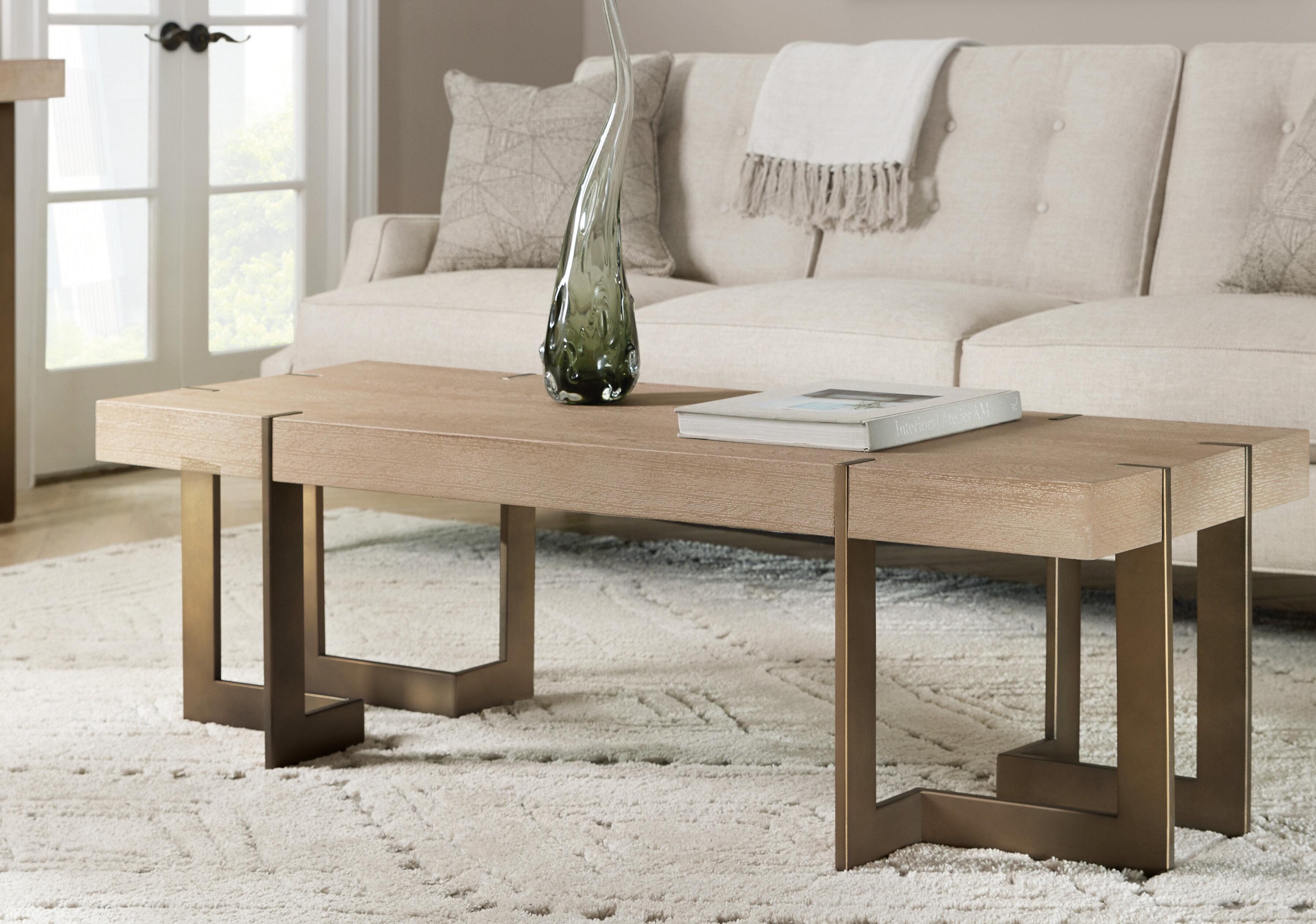 - Hooker Furniture Miramar Coffee Table With Tray Top Wayfair
