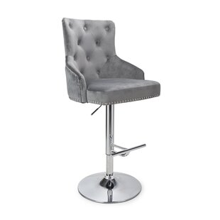Newmarket Height Adjustable Swivel Bar Stool By Fairmont Park