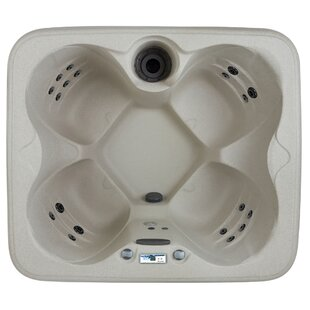 Lifesmart Spas Simplicity DLX 4-Person 20-Jet Plug and Play Spa with Waterfall and Ozone System