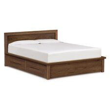 Moduluxe Storage Bed with Panel Headboard by Copeland Furniture