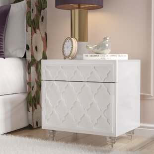 Fiora 1 Drawer Nightstand by Rosdorf Park