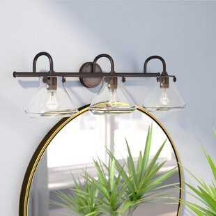 Ebern Designs Dingess 3-Light Cone Vanity Light