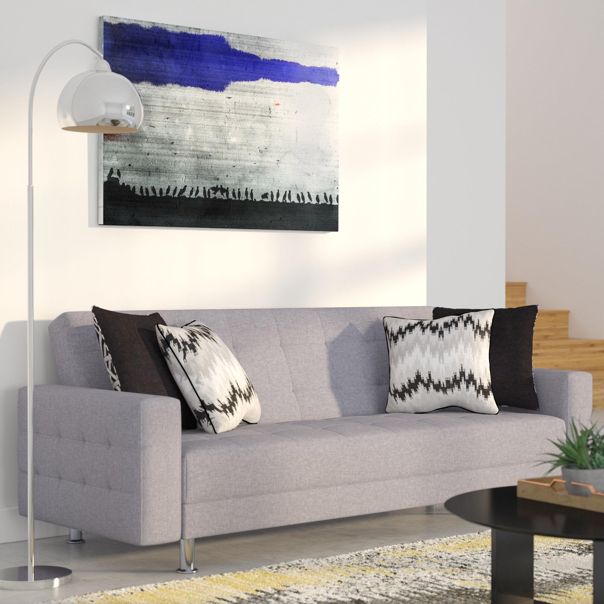 convertible gray living sofa of bedford sectional abbyson linen sleeper good