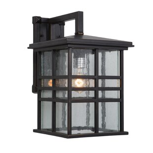 Red Barrel Studio Woodridge Exterior Incandescent 1-Light Outdoor Wall Lantern