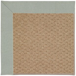 Lisle Machine Tufted Marine Blue/Brown Indoor/Outdoor Area Rug