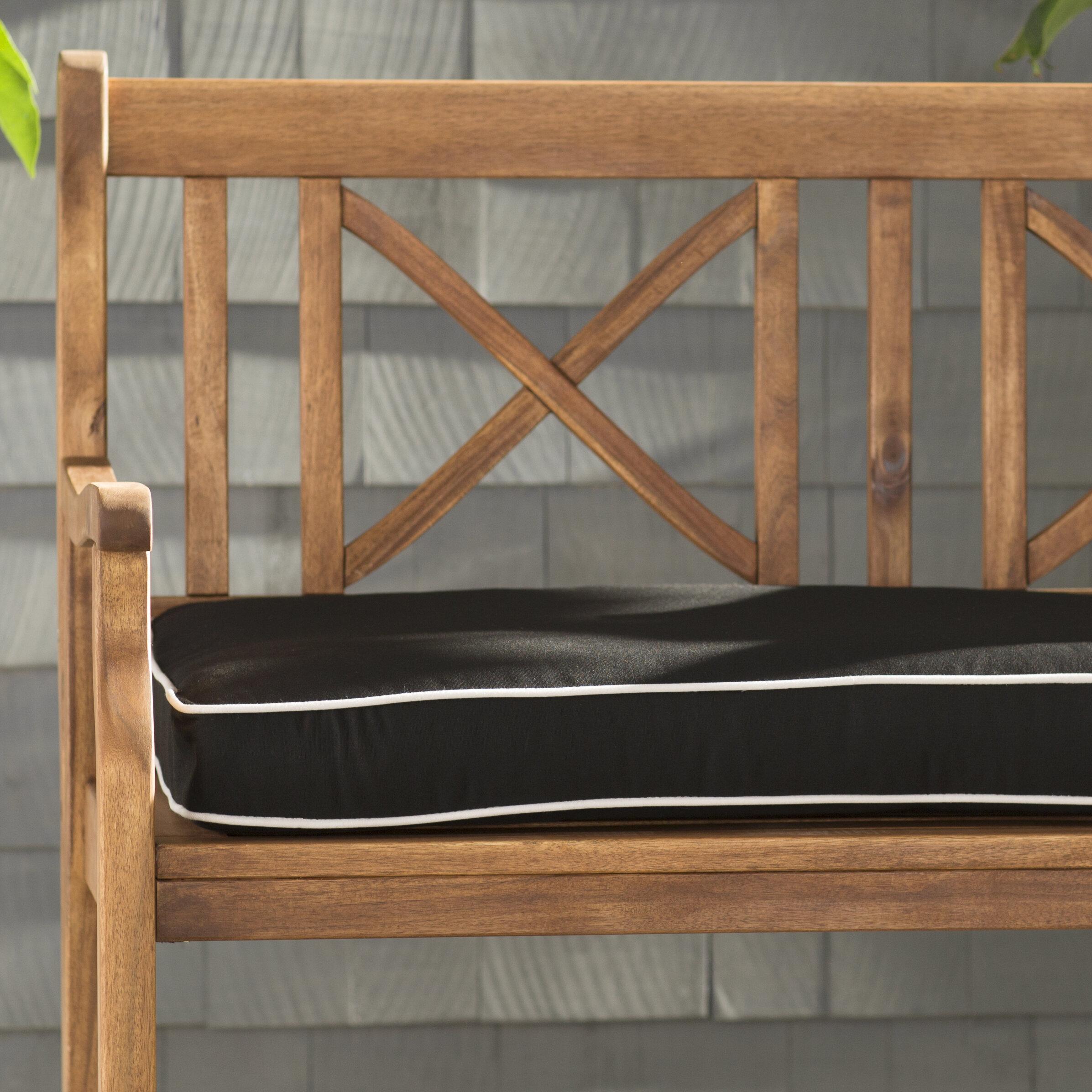 Beachcrest Home Indoor Outdoor Sunbrella Bench Cushion Reviews Wayfair