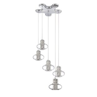 Aria 5-Light Pendant by Kendal Lighting