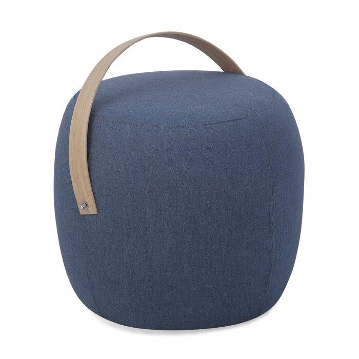 Brilliant Olivia Outdoor Pouf Ottoman In Sunbrella Fabric Machost Co Dining Chair Design Ideas Machostcouk