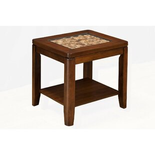 Strasser Wooden End Table by Bay Isle Home