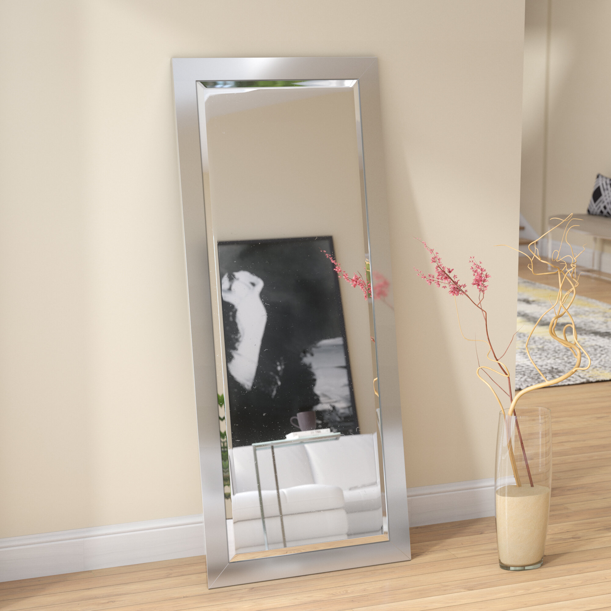 Large Oversized Wood Floor Mirrors You Ll Love In 2020 Wayfair