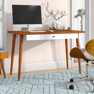 Gretchen Solid Wood Writing Desk by Langley Street