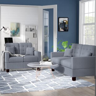 Read Reviews Cheyne 2 Piece Living Room Set by Zipcode Design Reviews (2019) & Buyer's Guide