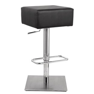 Adjustable Height Swivel Bar Stool by Fine Mod Imports
