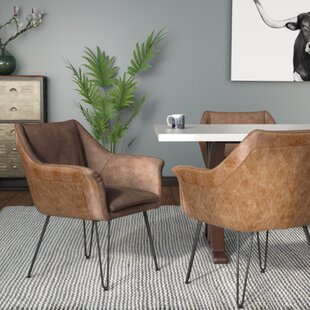 Greenwood Upholstered Dining Chair (Set of 2) Trent Austin Design