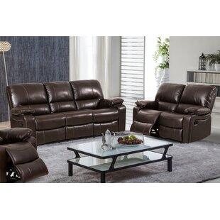 Baril 2 Piece Reclining Living Room Set
