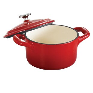Gourmet Enameled Cast Iron Cocotte with Lid By Tramontina