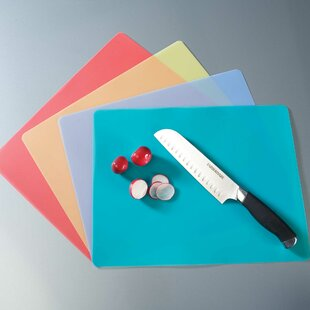 Flexible Plastic Cutting Mat (Set of 4)