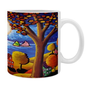 Fall Night Sail Coffee Mug