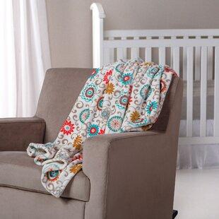 Waverly Baby Pom Pom Play Plush Throw Blanket ByTrend Lab