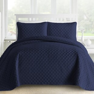 Correia 3 Piece Reversible Coverlet Set