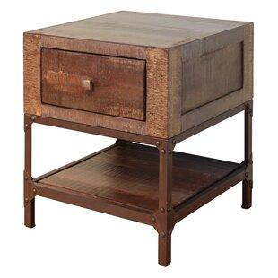 Loon Peak Pruett End Table with Storage