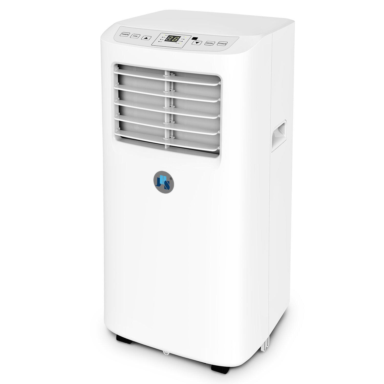 jhs 8 000 btu energy star portable air conditioner with remote rh wayfair com