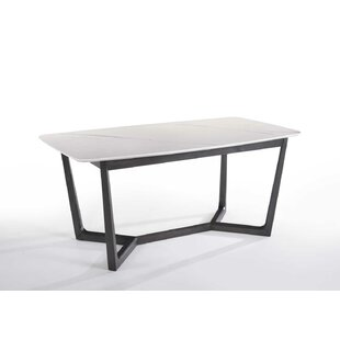 Leitha Dining Table by Ebern Designs Fresh