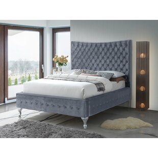 Kellems Upholstered Panel Bed by Everly Quinn