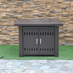 Creative Living Steel Propane Fire Pit Ta..