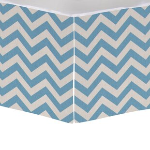 Coupon Algoma Mini Crib Skirt By Harriet Bee
