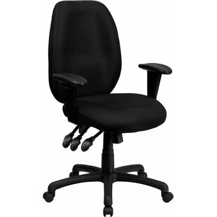 Affordable Price Kruger High-Back Ergonomic Executive Chair By Symple Stuff